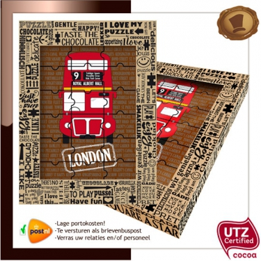Chocolade Puzzel <br>London