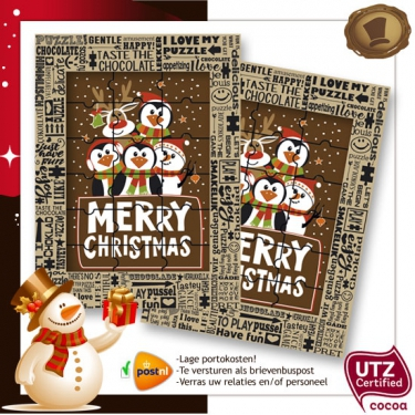 Kerst Puzzel  Merry Christmas
