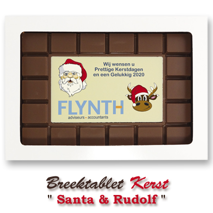 Chocolade-Breektablet-Kerst-Santa-Rudolf