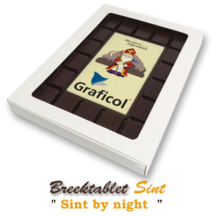 Chocolade Breektablet Sinterklaas - By Night