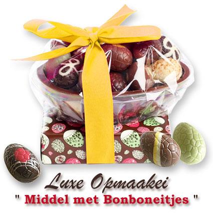 Luxe chocolade opmaakei middel