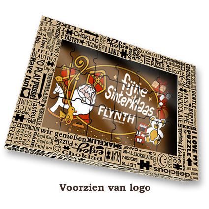 Chocolade Puzzel Sinterklaas Puzzel logo
