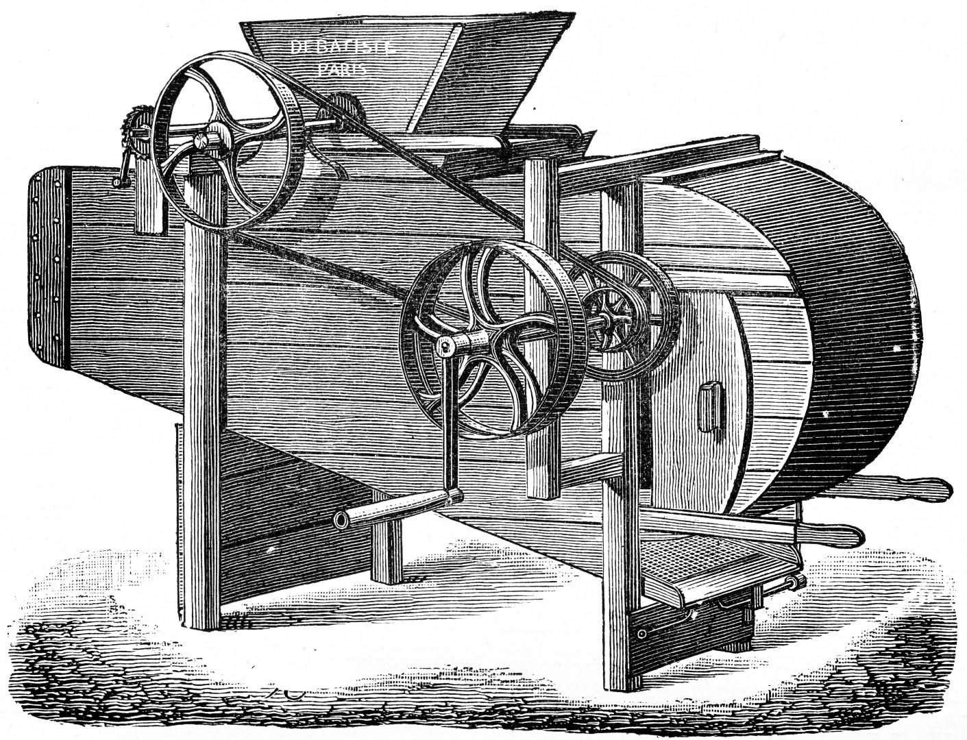 1732 – Chocolade maken met behulp van stoom