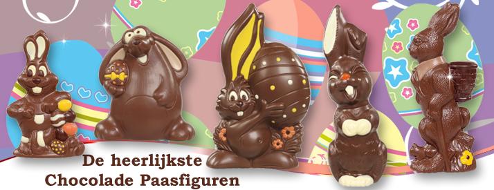 Chocolade Paashazen