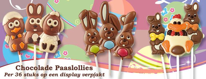 Chocolade Paaslollies