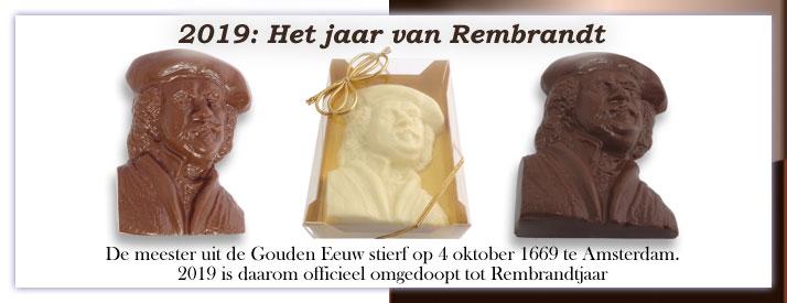 2019: Het jaar van Rembrandt van Rijn