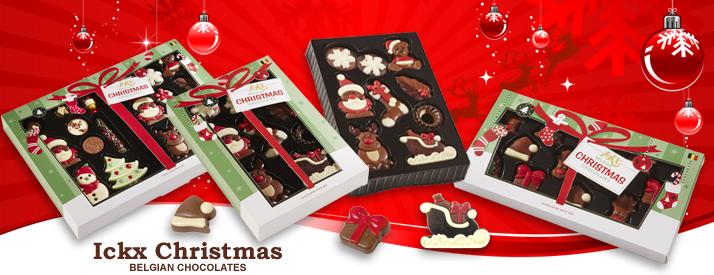 Ickx Christmas - Belgian Chocolates
