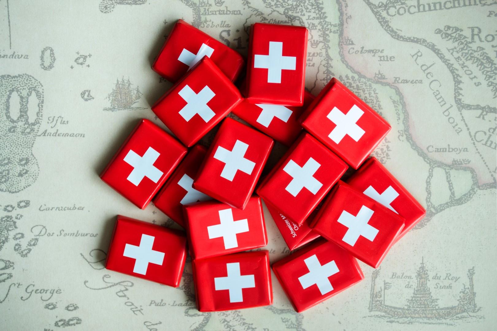 1819 – Zachte chocolade uit Zwitserland
