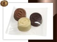 Chocolade Apenstaartjes  Per 3 stuks