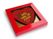 Chocolade hart <br/>Dag van de zorg