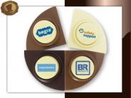 Chocolade Puntjes <br/>met uw bedrukking