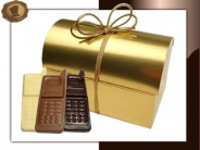 Choco-Mobieltjes in Schatkist