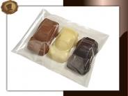 Chocolade auto's per 3 stuks