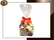 Zakje chocolade auto's Per 250 gram verpakt