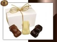 Ballotin Chocolade auto's klein