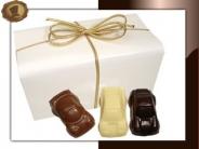 Ballotin Chocolade auto's groot
