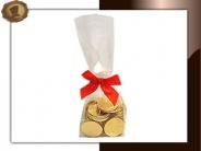 Zakje Chocolade munten Per 100 gram verpakt