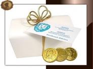 Chocolade munten Ballotin (groot)