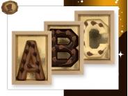 Luxe Bamboe letter  100 gram