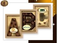 Bamboe letter 100 gram  met logo