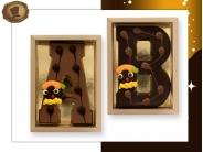 Chocolade Vormletter  met Piet