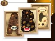 Chocolade Spuitletter  met Logo