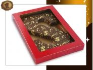 Transfer chocoladeletter  met Sint bedrukking