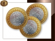 Chocolade Bitcoin 38 mm