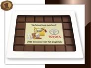 Chocolade Breektablet  Excuses verbouwing