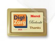 Choco Tablet *Klein*  Bedankt in diverse talen