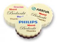 Logo Choco bulk <br>Bedankt in diverse talen