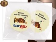 Logo Choco's per stuk  Excuses werkzaamheden