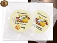 Logo Choco's per stuk Excuses verbouwing
