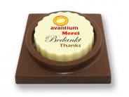 Logo Choco's De Luxe  Bedankt in diverse talen