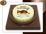 Logo Choco's De Luxe  Excuses werkzaamheden
