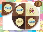 Vrolijk Pasen  met Choco Eitjes