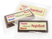 Choco blokken per stuk Bedankt in diverse talen