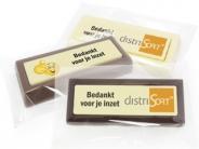 Choco blokken per stuk  Bedankt voor je inzet