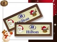 Santa en Rudolf
