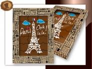Chocolade Puzzel  Paris Ooh lala