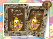 Chocolade Puzzel  Happy Easter