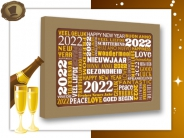 """Nieuwjaarskaart <br/>""""2019 Goud"""""""