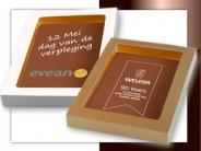 Chocolade<br/>Logo Tablet / Kaart