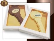 Chocolade Sleutel<br>met logo