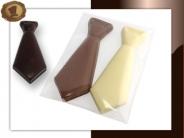 Chocolade Stropdassen  Per 2 stuks