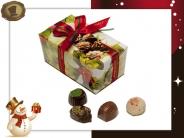 Ballotin Kersthulst  12 Pralines / 180 gram