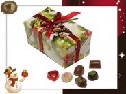 Ballotin Kersthulst  65 Pralines / 935 gram