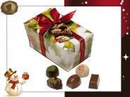 Ballotin Kersthulst  32 Pralines / 460 gram