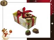 Ballotin Kersthulst  15 Pralines / 220 gram