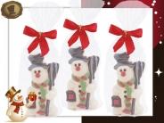 Sneeuwpop met sjaal